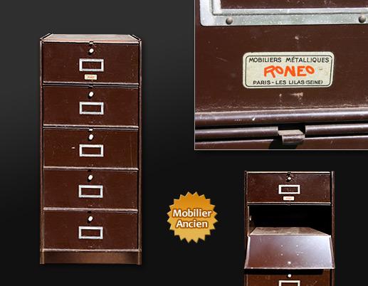 classeur ron o. Black Bedroom Furniture Sets. Home Design Ideas