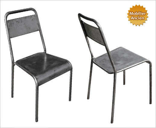 Chaise design industriel - Chaise metallique design ...