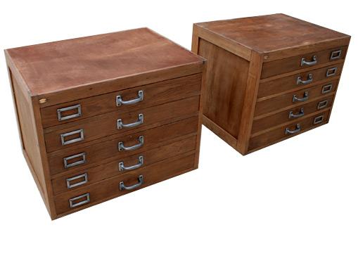 Meuble tiroir d atelier for Meuble bois tiroirs casiers