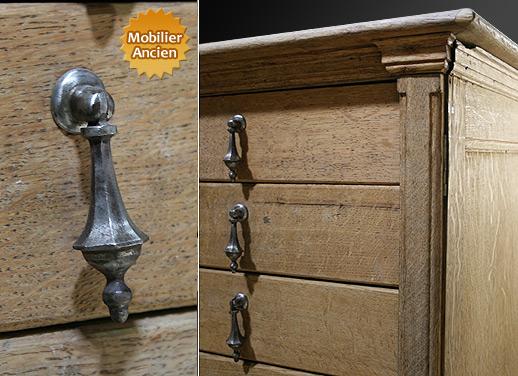 Grand meuble tiroir for Meuble a tiroir ancien