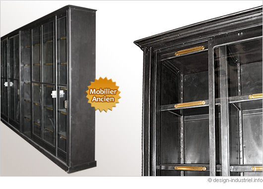 biblioth que design industriel. Black Bedroom Furniture Sets. Home Design Ideas