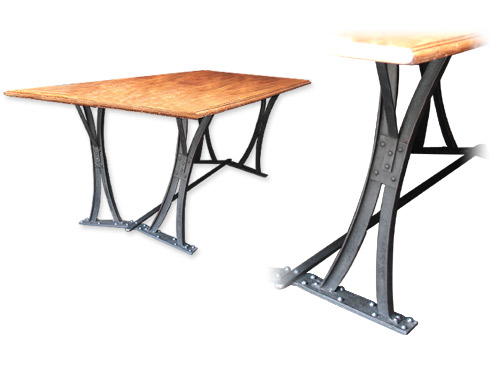 Design industriel mobilier industriel meuble industriel for Table design industriel